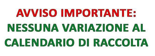 AVVISO IMPORTANTE ALLE UTENZE DEI COMUNI DELL'ARO BA/6